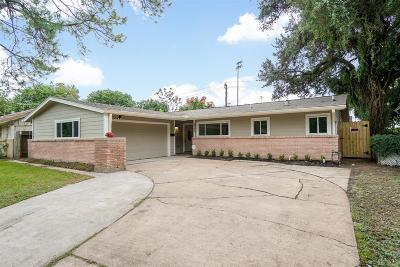 Houston Single Family Home For Sale: 7705 Albacore Drive