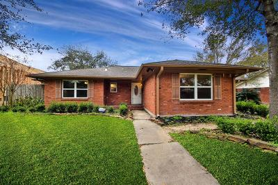 Houston Single Family Home For Sale: 7713 Valley View Lane