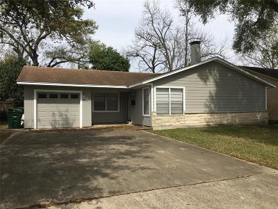 Houston Single Family Home For Sale: 527 Roper Street