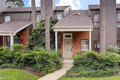 Houston Condo/Townhouse For Sale: 701 Bering Drive #603