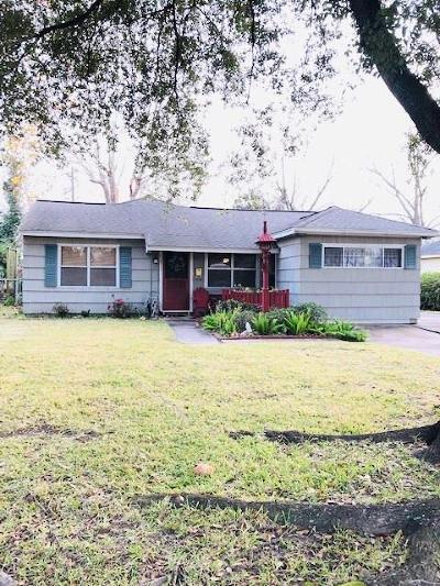 Houston TX Single Family Home For Sale: $169,999