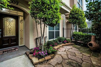 Houston Condo/Townhouse For Sale: 2807 Mason Street