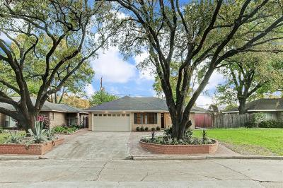 Houston Single Family Home For Sale: 1707 Tannehill Drive