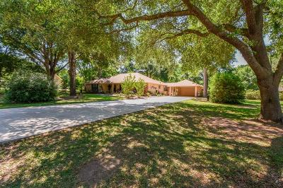 Tomball Single Family Home For Sale: 18807 Rosehill Road