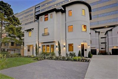 Houston Condo/Townhouse For Sale: 2115 Sheridan #A