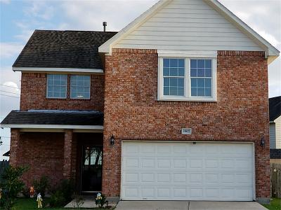 Missouri City Single Family Home For Sale: 1907 Oak Hollow Court