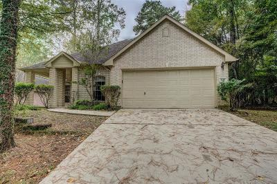 Montgomery Single Family Home For Sale: 3235 Woodchuck Road