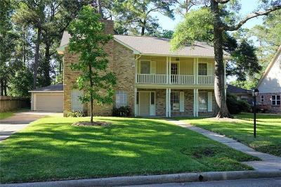 Spring Single Family Home For Sale: 7906 Aleta Drive