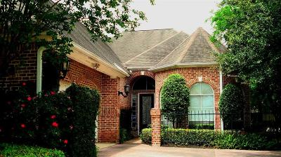 Houston Single Family Home For Sale: 14 Champions Court Place