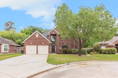 Kingwood Single Family Home For Sale: 2211 Blossom Creek Drive