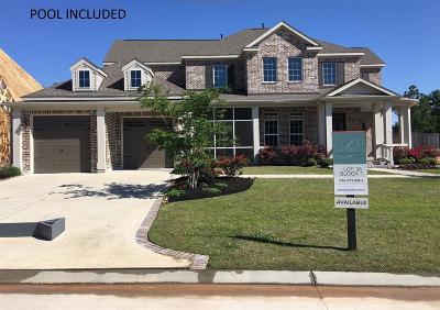 Conroe Single Family Home For Sale: 2009 Bluestem Drive