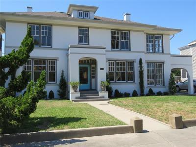 Galveston Single Family Home For Sale: 3420 Avenue O