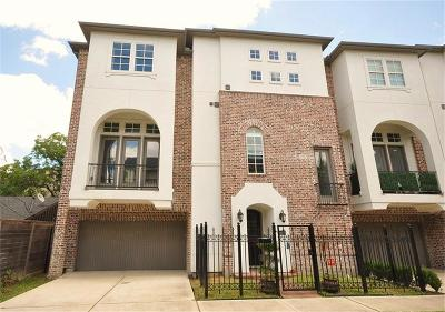 Houston Condo/Townhouse For Sale: 1602 Bonner Street #A