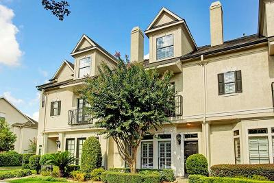 Houston Condo/Townhouse For Sale: 511 N Gate Stone
