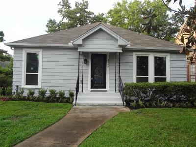 Houston Single Family Home For Sale: 3329 Tampa