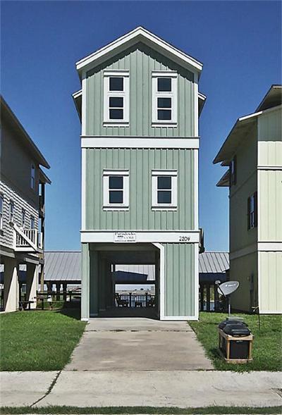 Port Bolivar Single Family Home For Sale: 2209 Nelson Avenue