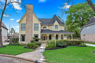 Galveston County, Harris County Single Family Home For Sale: 19014 White Candle Drive