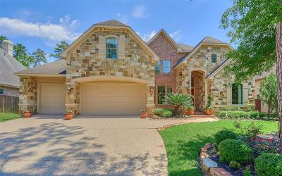 The Woodlands TX Single Family Home For Sale: $895,500