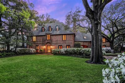 River Oaks Single Family Home For Sale: 3023 Chevy Chase Drive