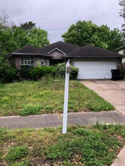 Houston Single Family Home For Sale: 13951 Dentwood Drive