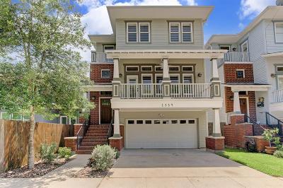 Harris County Single Family Home For Sale: 1334 Blair