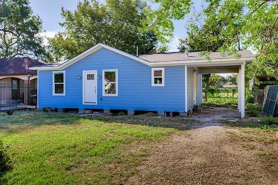 Houston Single Family Home For Sale: 4106 Tiffin
