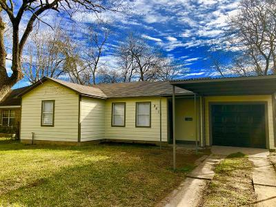 Houston Single Family Home For Sale: 3510 Dawson Lane
