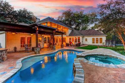 Houston Single Family Home For Sale: 419 Bayou Cove Court