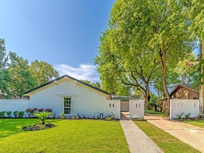 Houston Single Family Home For Sale: 10611 Deerwood Road