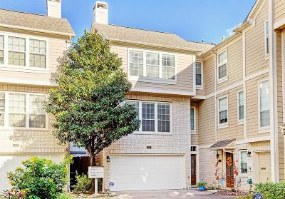 Houston Condo/Townhouse For Sale: 830 Cohn Street