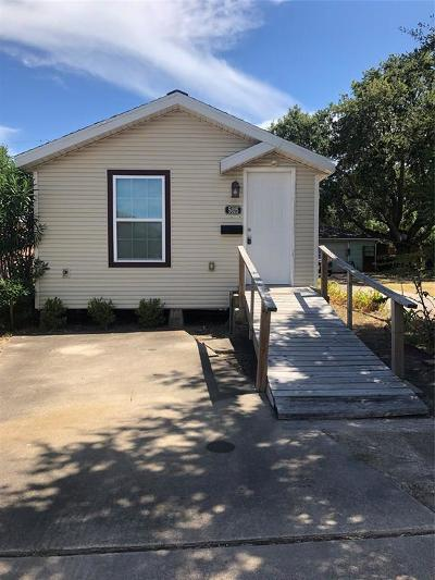 Galveston Single Family Home For Sale: 5015 Avenue R 1/2