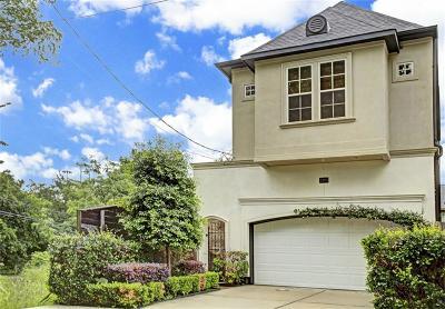 Houston Single Family Home For Sale: 1103 Summer