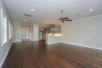 Houston Heights Condo/Townhouse For Sale: 819 Algregg Street