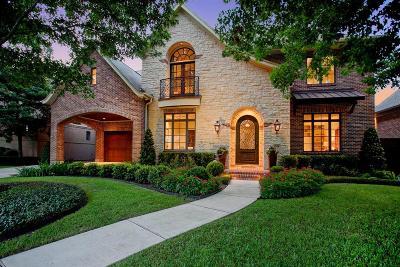Afton Oaks Single Family Home For Sale: 4514 W Alabama Street