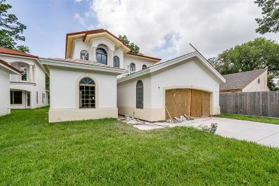 Houston TX Single Family Home For Sale: $800,000