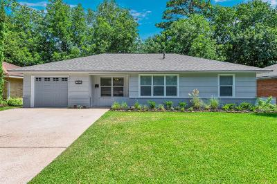Houston Single Family Home For Sale: 2226 Chantilly Lane