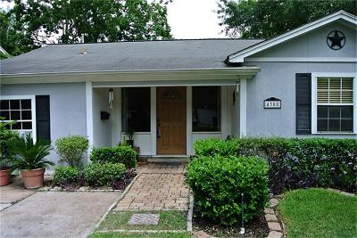 Bellaire Single Family Home For Sale: 4308 Lula
