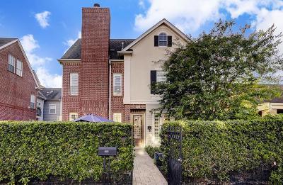 Montrose Single Family Home For Sale: 1820 Dunlavy Street