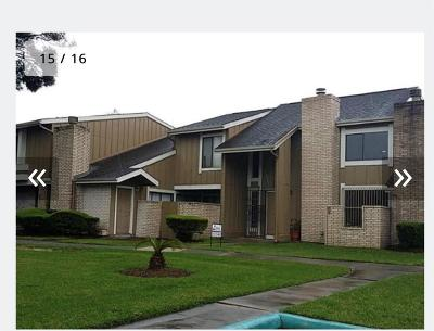 Houston TX Condo/Townhouse For Sale: $1,400