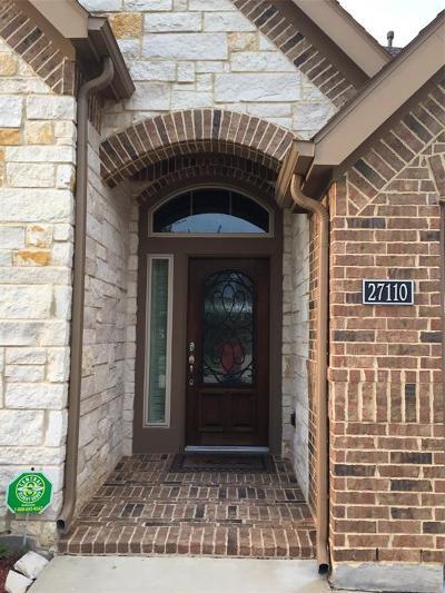 Katy Single Family Home For Sale: 27110 Walden Gulch Lane