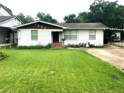 Houston Single Family Home For Sale: 7921 Miley Street