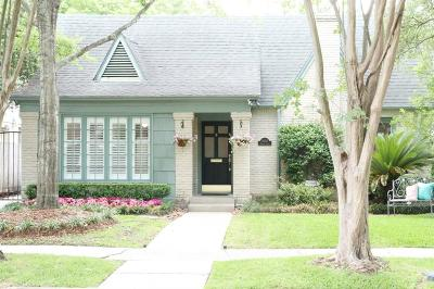Houston Single Family Home For Sale: 1802 Hazard Street