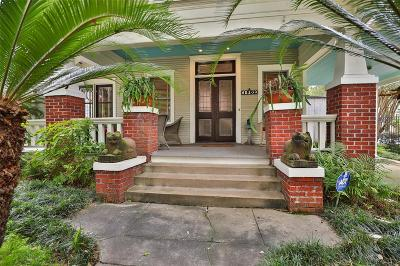 Houston Single Family Home For Sale: 1902 Ridgewood Street