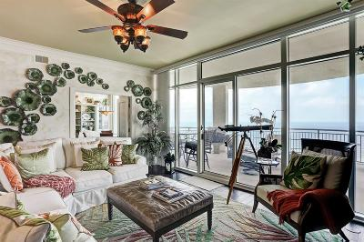 Galveston Mid/High-Rise For Sale: 801 E Beach Drive #TW2305
