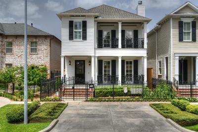 Houston Single Family Home For Sale: 905 Tulane Street