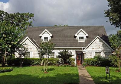 Houston Single Family Home For Sale: 907 Bethlehem Street