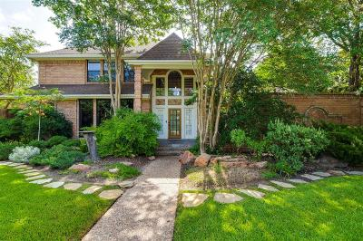 College Station Single Family Home For Sale: 8605 Rosewood Drive