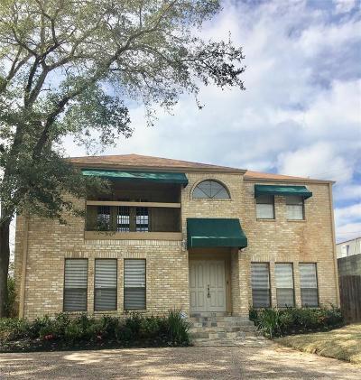 Houston Single Family Home For Sale: 7216 Kirby Boulevard