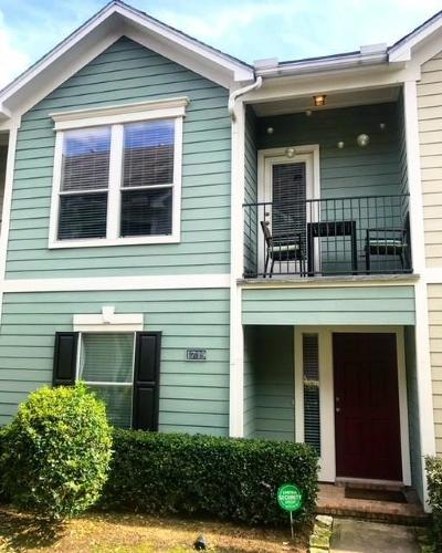 Harris County Condo/Townhouse For Sale: 1719 Stuart Street