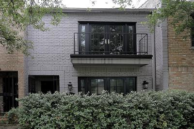 Houston Condo/Townhouse For Sale: 2214 Welch Street